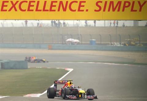 Vettel en el GP de China