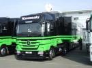 Encuentran drogas y un arma en uno de los camiones del equipo Kawasaki de Superbikes