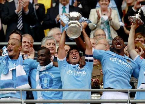 Manchester City gana la FA Cup