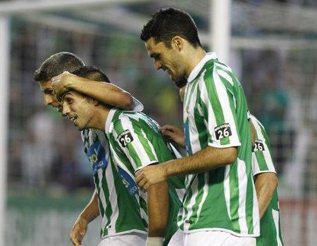 Los jugadores del Real Betis ya se ven en Primera División