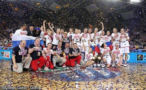Eurobasket femenino 2011: Rusia campeona del europeo de Polonia