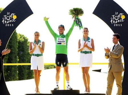 Mark Cavendihs ha ganado 5 etapas en el Tour de Francia 2011
