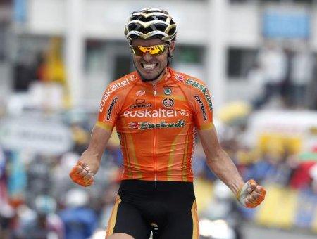 Tour de Francia 2011: Samuel Sánchez gana en Luz Ardiden