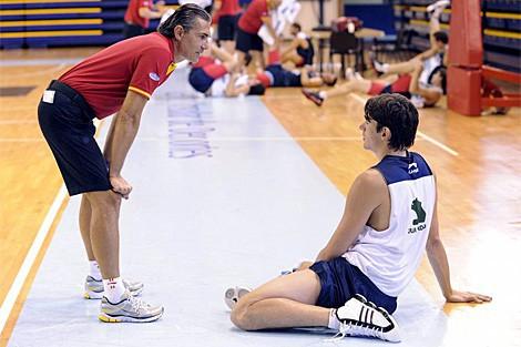 Eurobasket de Lituania 2011: Carlos Suárez carga contra Sergio Scariolo tras su descarte