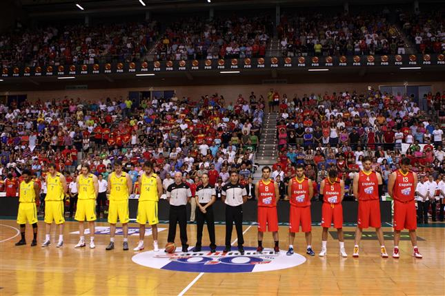 Preparación Eurobasket Lituania 2011: Victoria frente a Australia con el recuerdo de Don Alfonso Reyes