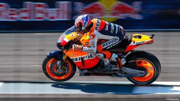 Casey Stoner, pole position en Indianapolis