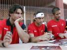 Copa Davis 2011: se celebró el sorteo de la eliminatoria entre España y Francia que abrirá Rafa Nadal