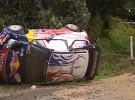 Rally de Australia: los accidentes de Loeb y Ogier dejan a Hirvonen y Latvala al frente