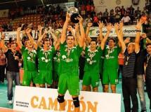 Unicaja Almería gana la Supercopa de España de voleibol 2011