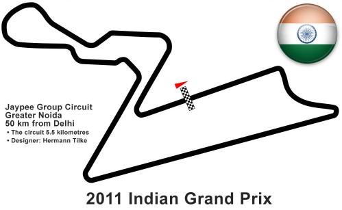 GP de India 2011 de Fórmula 1: previa, horarios y retransmisiones