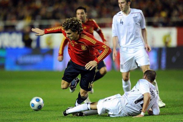 Fernando Llorente en un España - Inglaterra