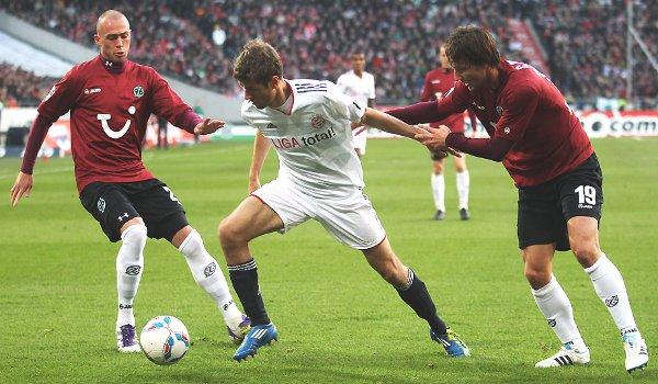 El Hannover 96 le ha ganado al Bayern Munich