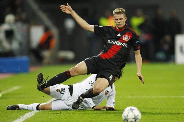 El Valencia perdió frente al Bayer Leverkusen y se complica la Liga de Campeones