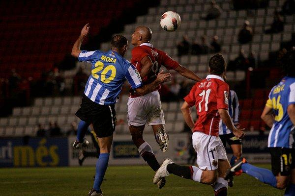 El defensa Mora marcó el gol de la victoria del Hércules