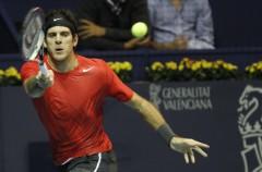 ATP Valencia Open: Del Potro y Ferrer continúan, cae Feliciano López