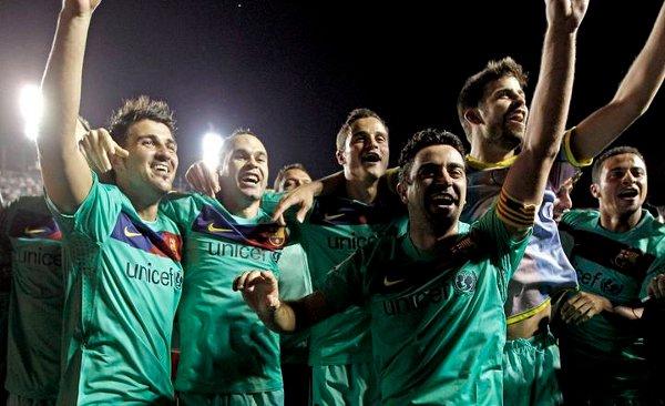 El Barcelona copa los Premios LFP de la temporada 2010/1