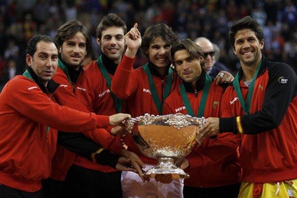 España gana su quinta Copa Davis