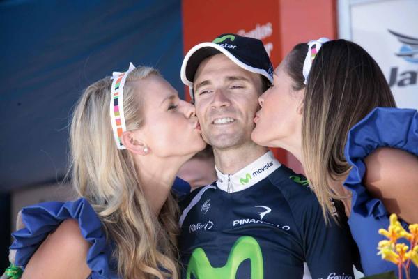 Alejandro Valverde regresó a la competición con victoria