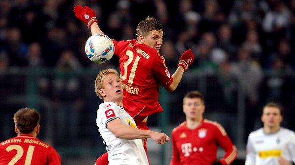 Borussia Monchengladbach ganó a Bayern Munich