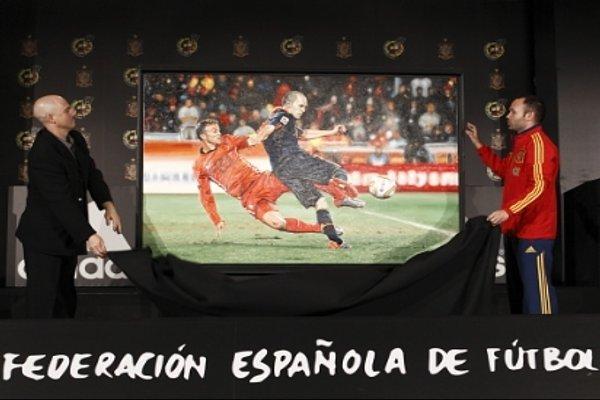 Iniesta descubre el cuadro con su gol del Mundial de Sudáfrica