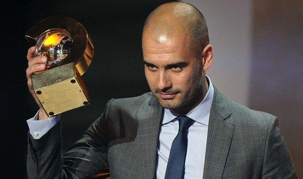 Pep Guardiola es el mejor entrenador del año 2011
