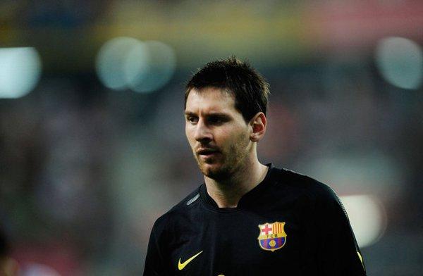 Messi, jugador del Barcelona