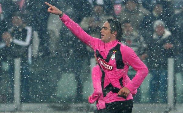 Matri, el goleador de la Juventus