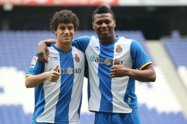Kalu Uche y Coutinho, fichajes del Espanyol