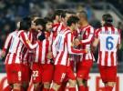 Europa League 2011/12: victorias de Atlético y Valencia, derrota del Athletic en Moscú