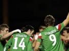 Copa del Rey 2011/12: el Athletic gana al Mirandés con dos goles de Llorente