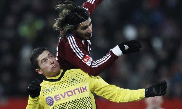 Robert Lewandowski, delantero del Borussia Dortmund