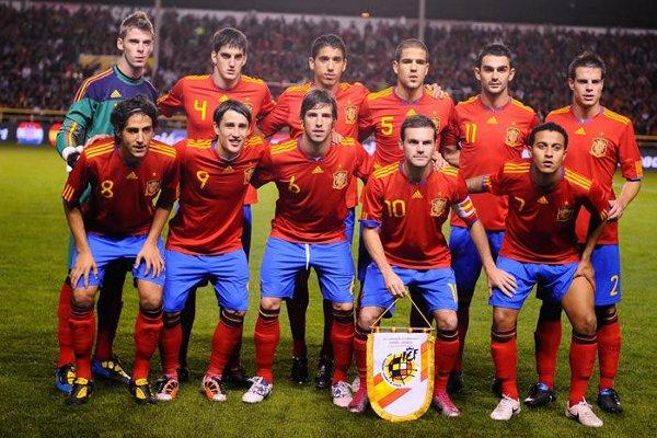 Alineación de la selección española sub 21