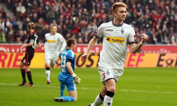 Reus es el máximo goleador del Borussia Monchengladbach