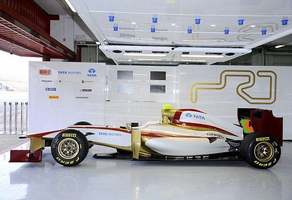 HRT y Marussia presentan sus monoplazas a dos semanas del comienzo de la Fórmula 1