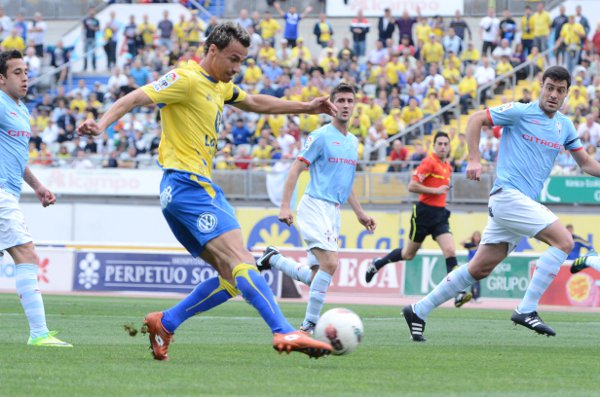 Las Palmas derrotó 3-1 al Celta de Vigo