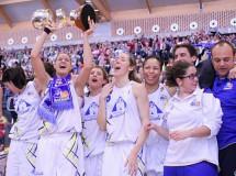 Perfumerías Avenida Salamanca ganó la Copa de la Reina de baloncesto 2012