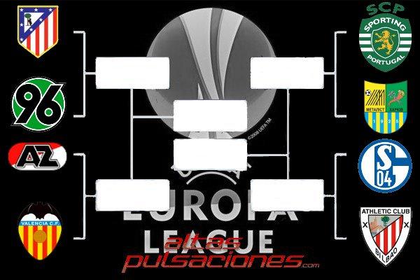 Cuadro de cuartos de final de la Europa League