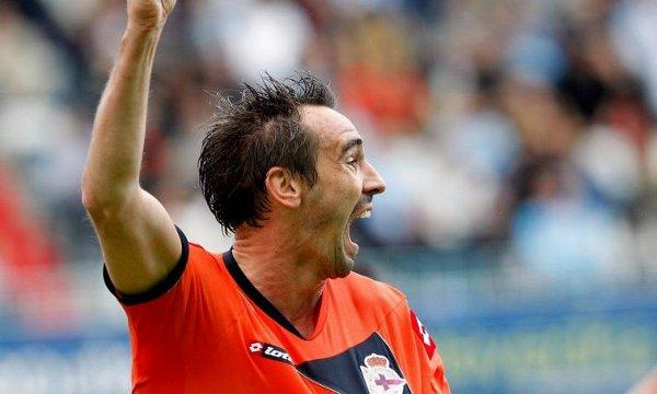 Borja marcó el gol de la victoria del Depor en Vigo