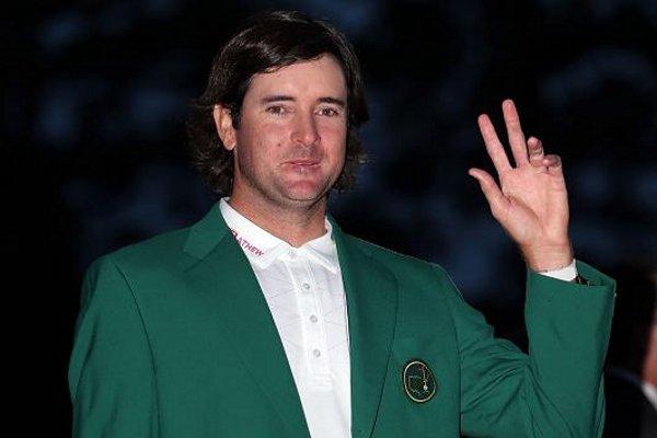 Bubba Watson con la chaqueta verde