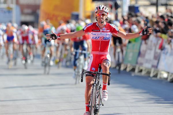 Dani Moreno gana el GP Miguel Indurain 2012