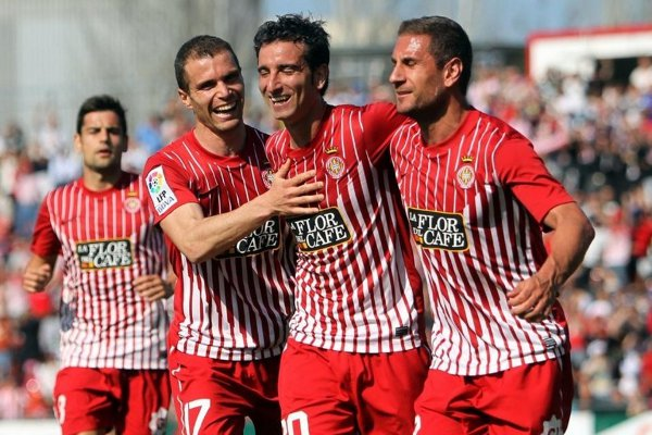 El Girona consiguió ganar al Deportivo de La Coruña