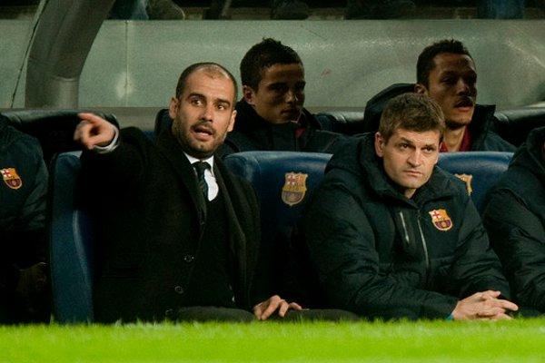 Guardiola deja el Barcelona y Vilanova será su sustituto