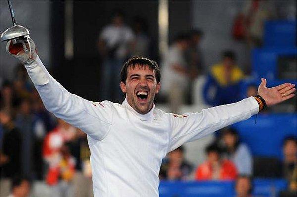 Pirri, el único medallista de la esgrima española