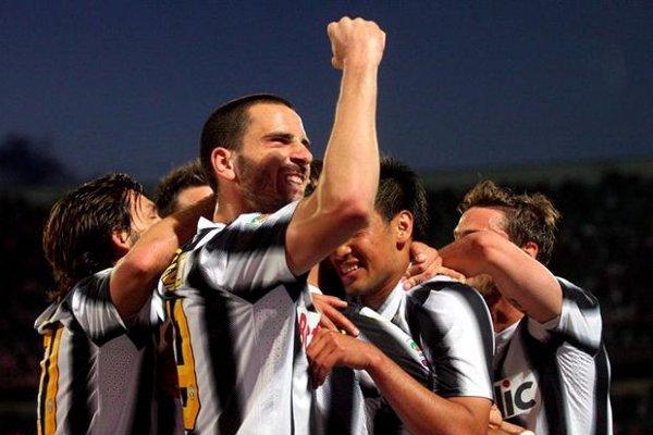 Quagliarella fue uno de los goleadores de la Juve