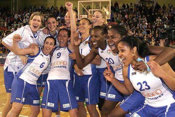 Ros Casares, ganadoras de la liga femenina de baloncesto