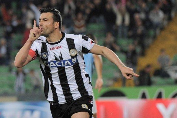 Los goles de Di Natale mantienen arriba al Udinese