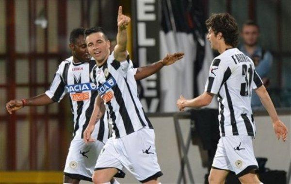 Los goles de Di Natale han llevado al Udinese a Liga de Campeones