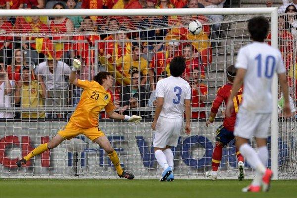 El gol del Fernando Torres ante Corea del Sur