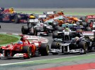 GP de España 2012 de Fórmula 1: Pastor Maldonado gana por delante de Alonso y Raikkonen