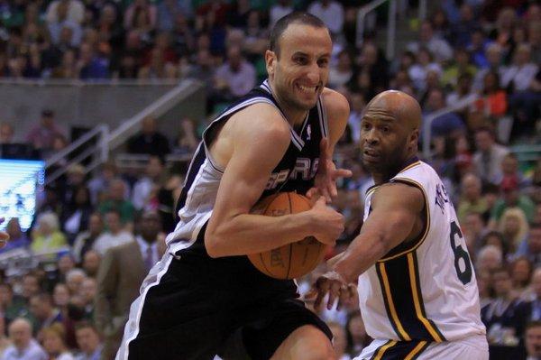Manu Ginobili, escolta de San Antonio Spurs